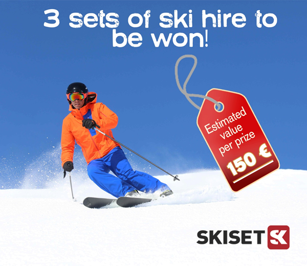 Skiset competition - winner's announcement!