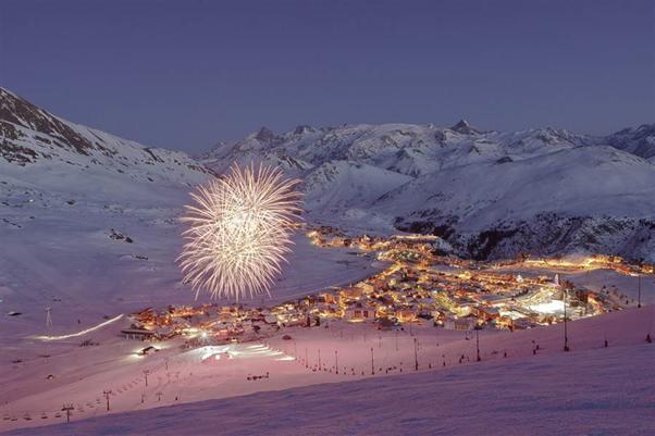 Alpe d'Huez apres ski