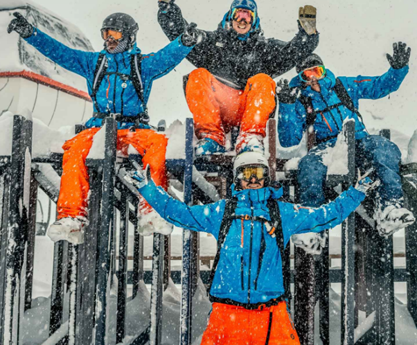 Perfect your Turns on the Snow with Oxygène Ski and Snowboard School